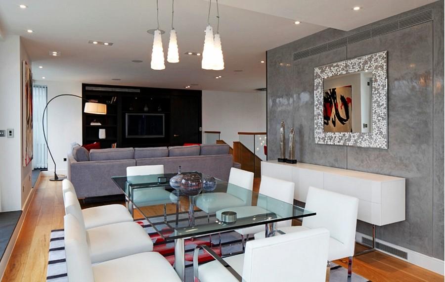decoracao de sala jantar e estar juntas:Decoração de sala de jantar – 20 salas de jantar modernas e atuais