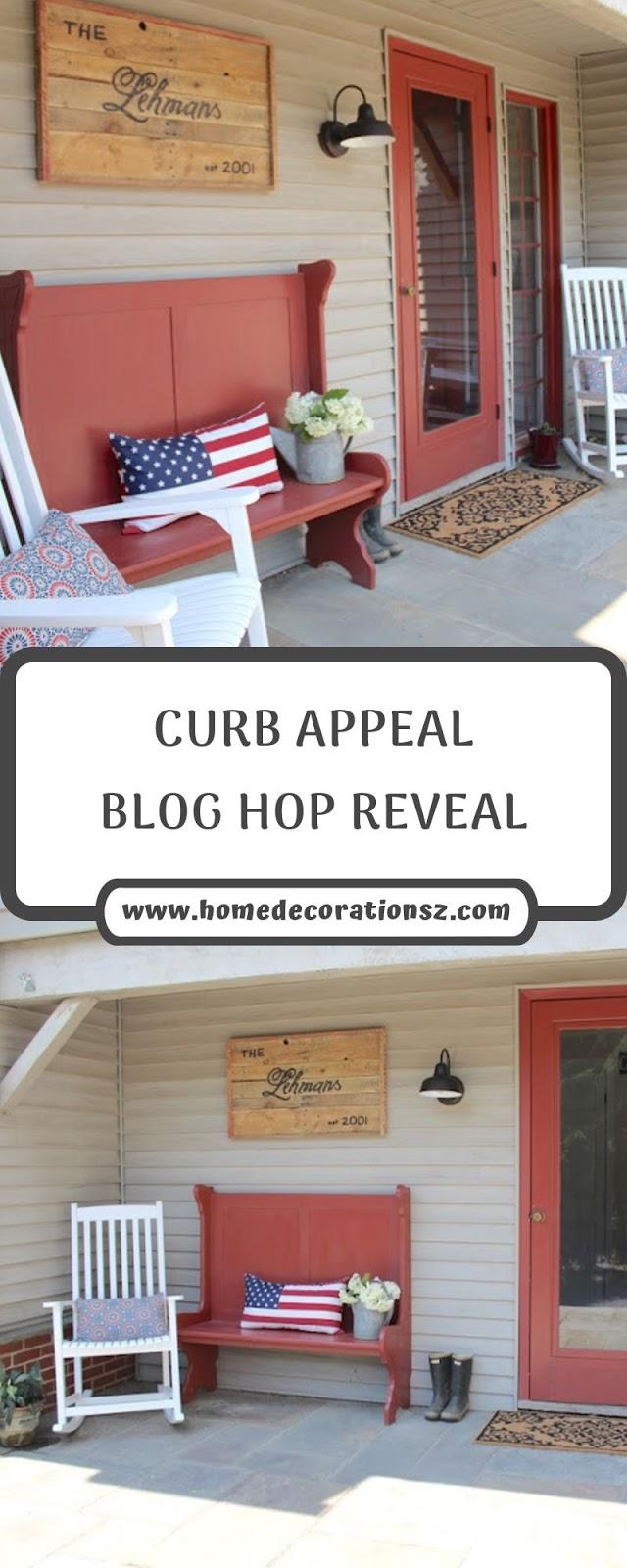 CURB APPEAL BLOG HOP REVEAL