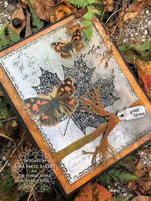 Sara Emily Barker https://frillyandfunkie.blogspot.com/2019/10/saturday-showcase-stampers-anonymous.html Fall Card Saturday Showcase Pressed Foliage 4