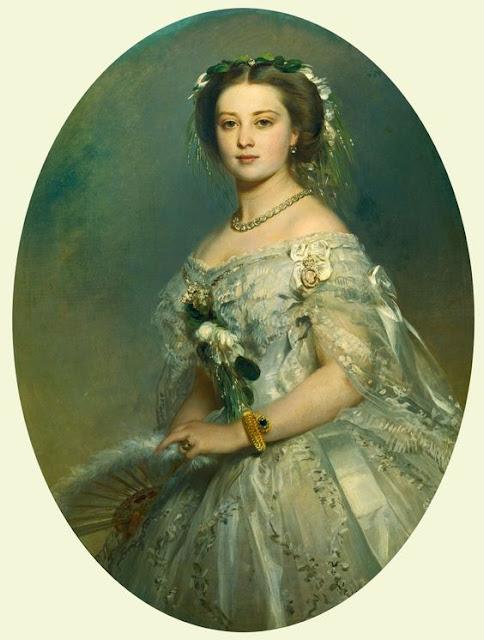 Rainha Vitória anel de esmeraldas