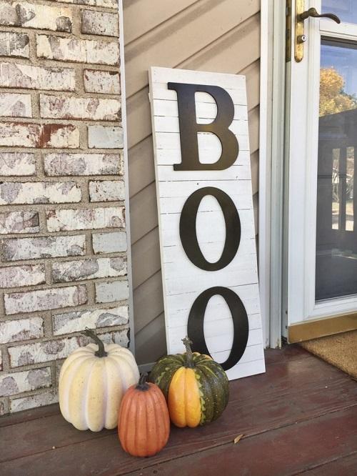 diy halloween boo decor fixer upper style