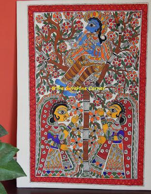 Madhubani Krishna