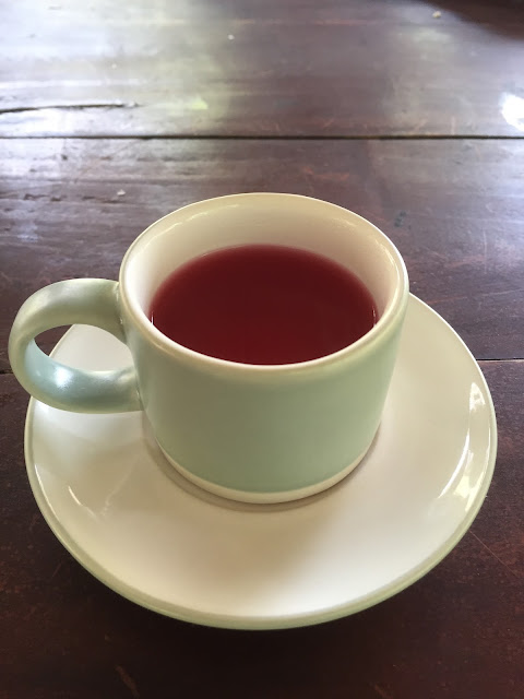 Herbal tea from PPLH nature reserve, Seloliman, East Java, Indonesia