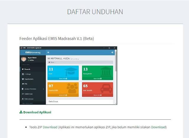 Download Aplikasi EMIS Offline