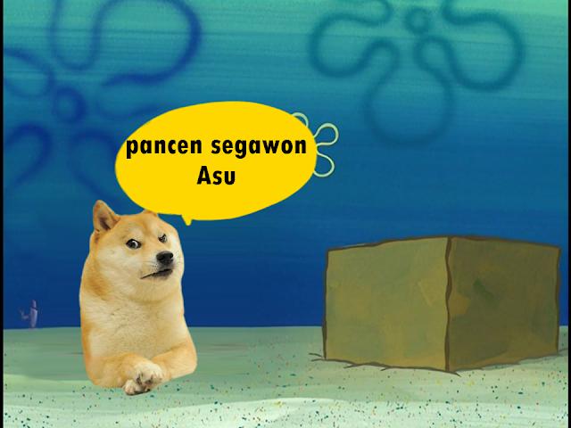 Apa arti kata sigawon atau segawon