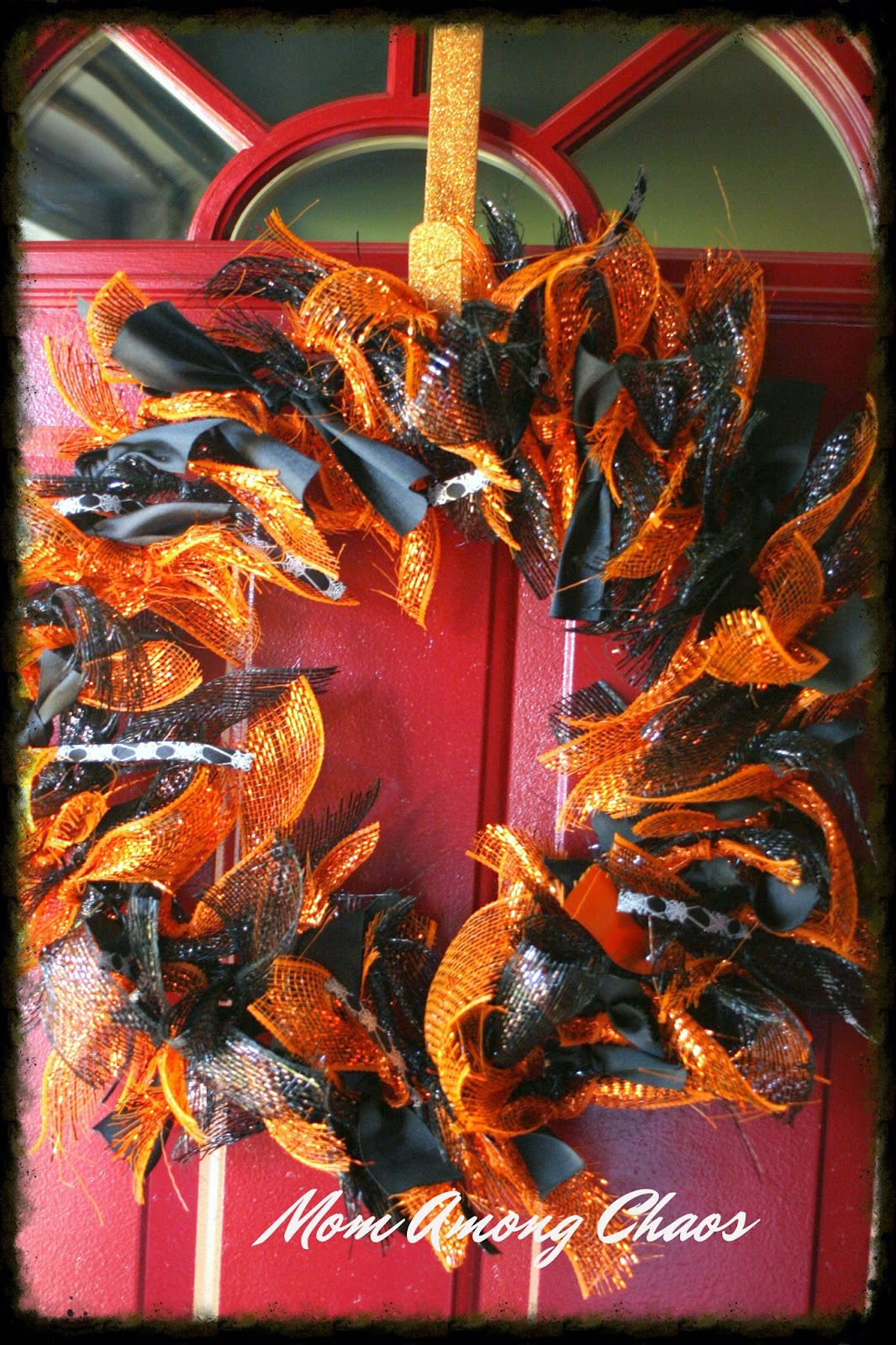 fall wreath, halloween, crafts, easy, cheap