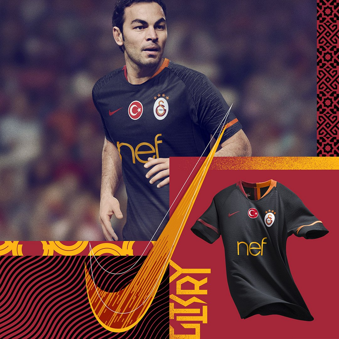 online store d37e7 5c5a5 Galatasaray 18-19 Away Kit Released - Footy Headlines