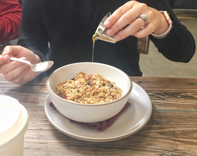 the factory cafe in florence alabama granola