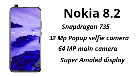 Nokia 8.2 will come with Snapdragon 735, 32 MP selfie camera and 5G network connectivity