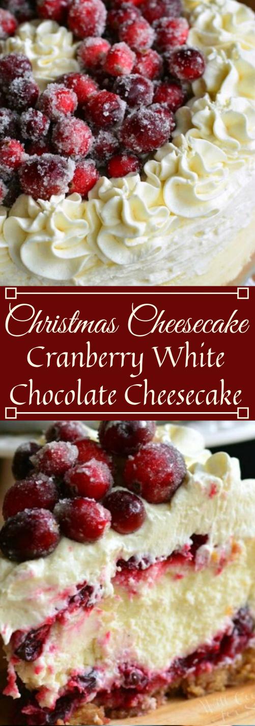 CHRISTMAS CHEESECAKE  #desserts #cakes #pumpkin #easy #bars