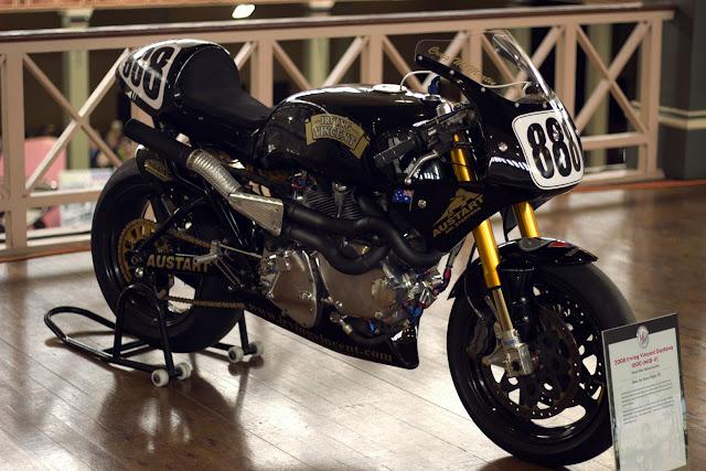 Irving Vincent Motorcycle Daytona Winner