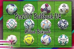 NEW Ballpack 2020-2021 V4 (50 Balls) - PES 2017