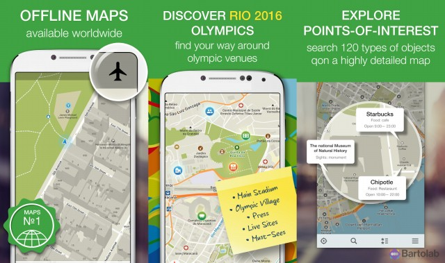 Maps Me Offline Map and Navigation Screenshots