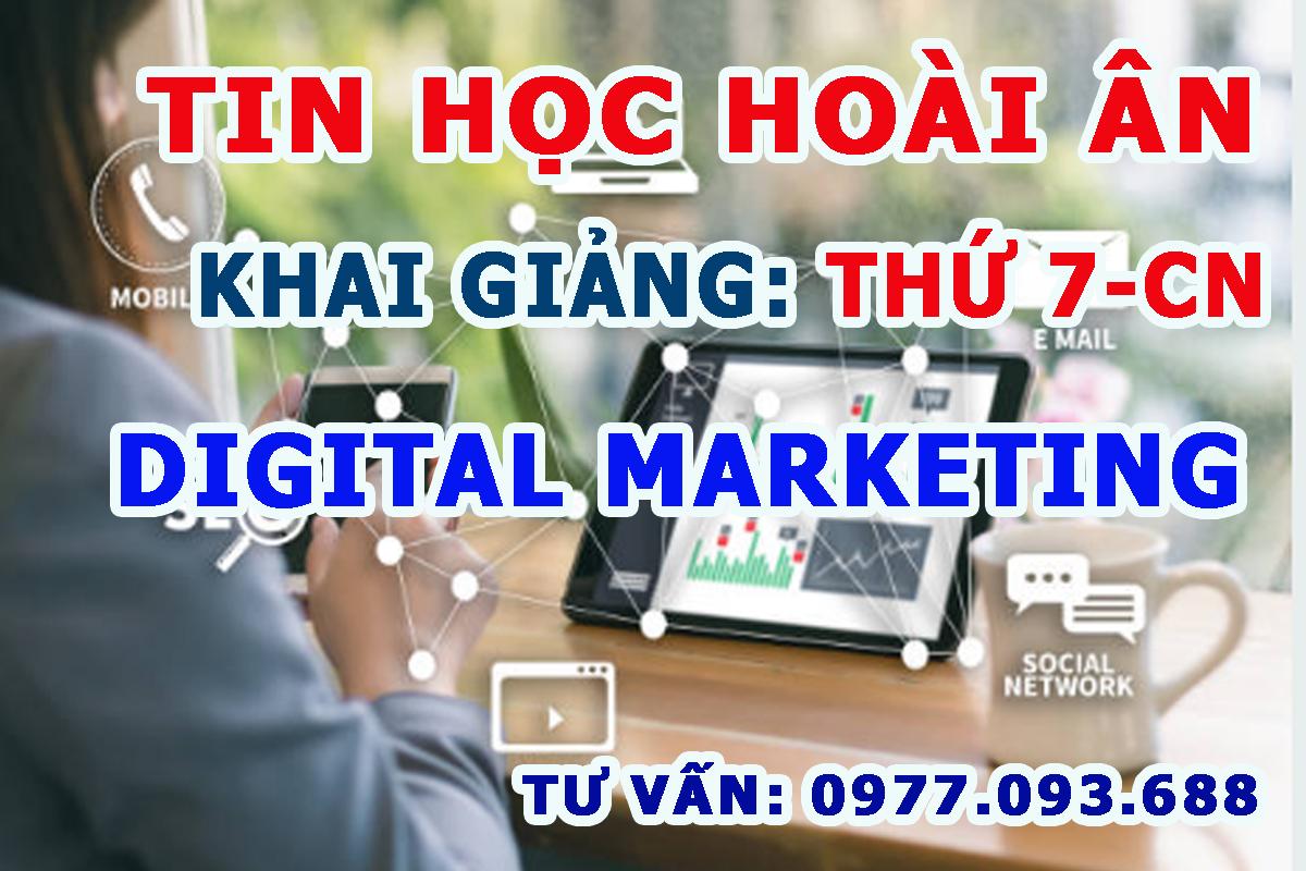 Khai giảng lớp Digital marketing tại Biên Hoà