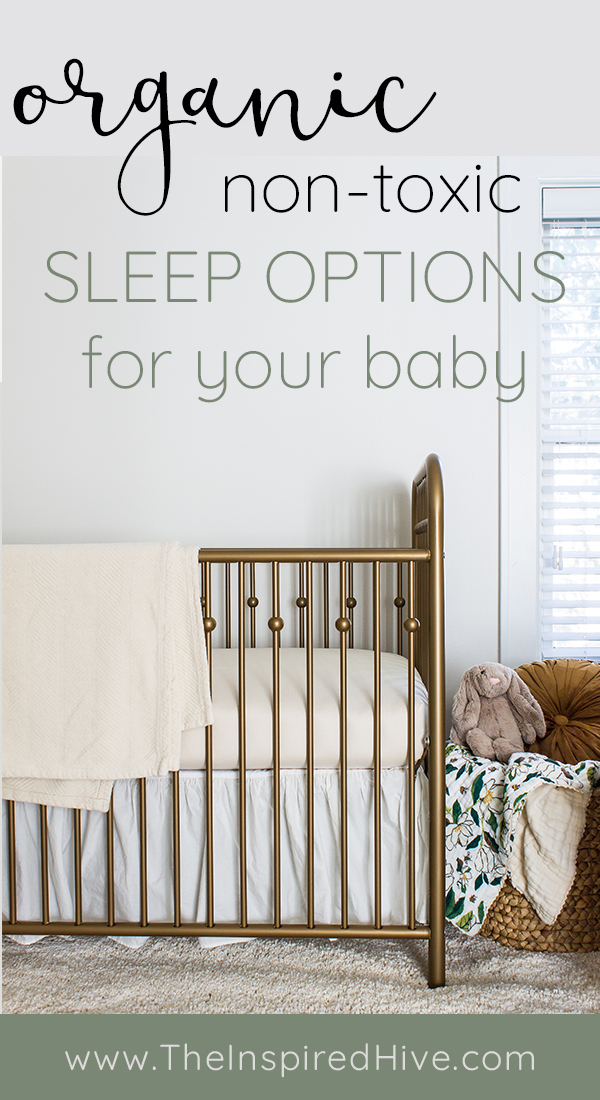 Organic non-toxic sleep for babies. Sweetpea crib mattress from The Futon Shop