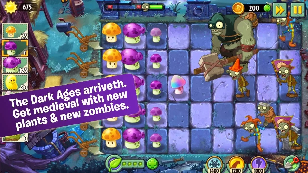 Plants vs. Zombies 2 Apk Mod 4.6.1