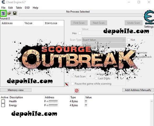 Scourge Outbreak PC Oyunu Can, Enerji +2 Trainer Hilesi İndir
