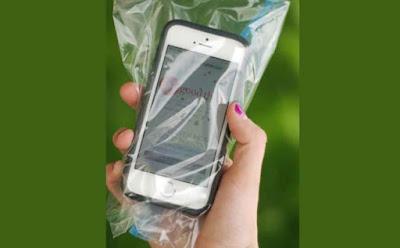 موبايل هاتف خلوى جوال تليفون محمول كيس بلاستيك mobile cell phone cellular plastic paper bag