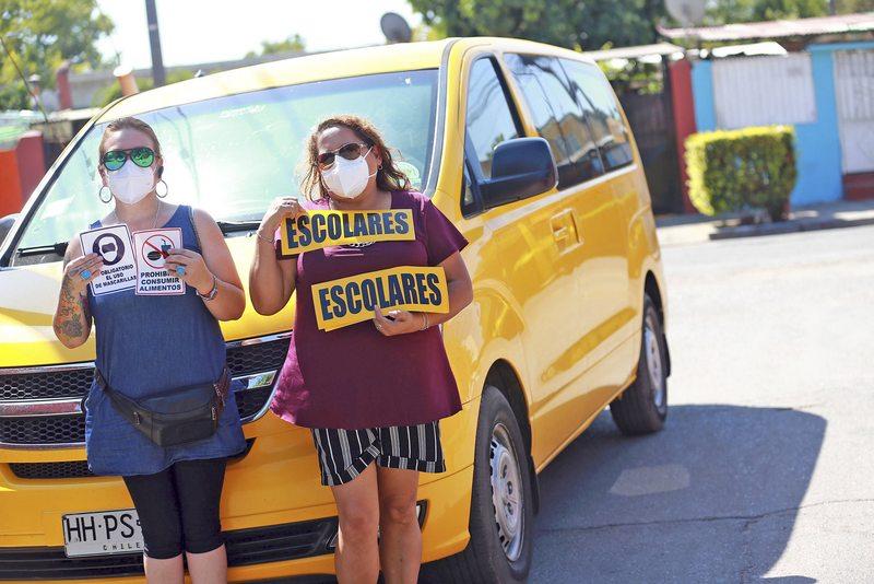 Protocolo para furgones escolares
