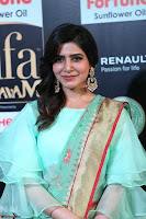 Samantha Ruth Prabhu Smiling Beauty in strange Designer Saree at IIFA Utsavam Awards 2017  Day 2  Exclusive 25.JPG