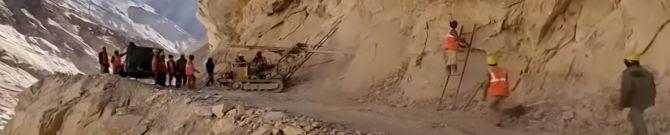 BRO Developing Six-Foot Tracks In Arunachal Pradesh