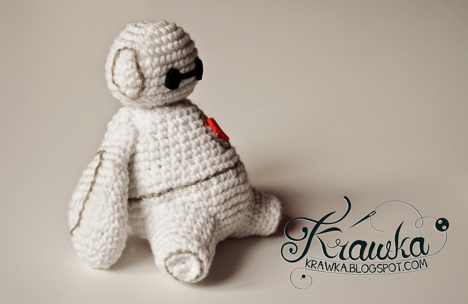 Krawka  Big Hero 6 - Baymax free pattern 1b23a4f113f7