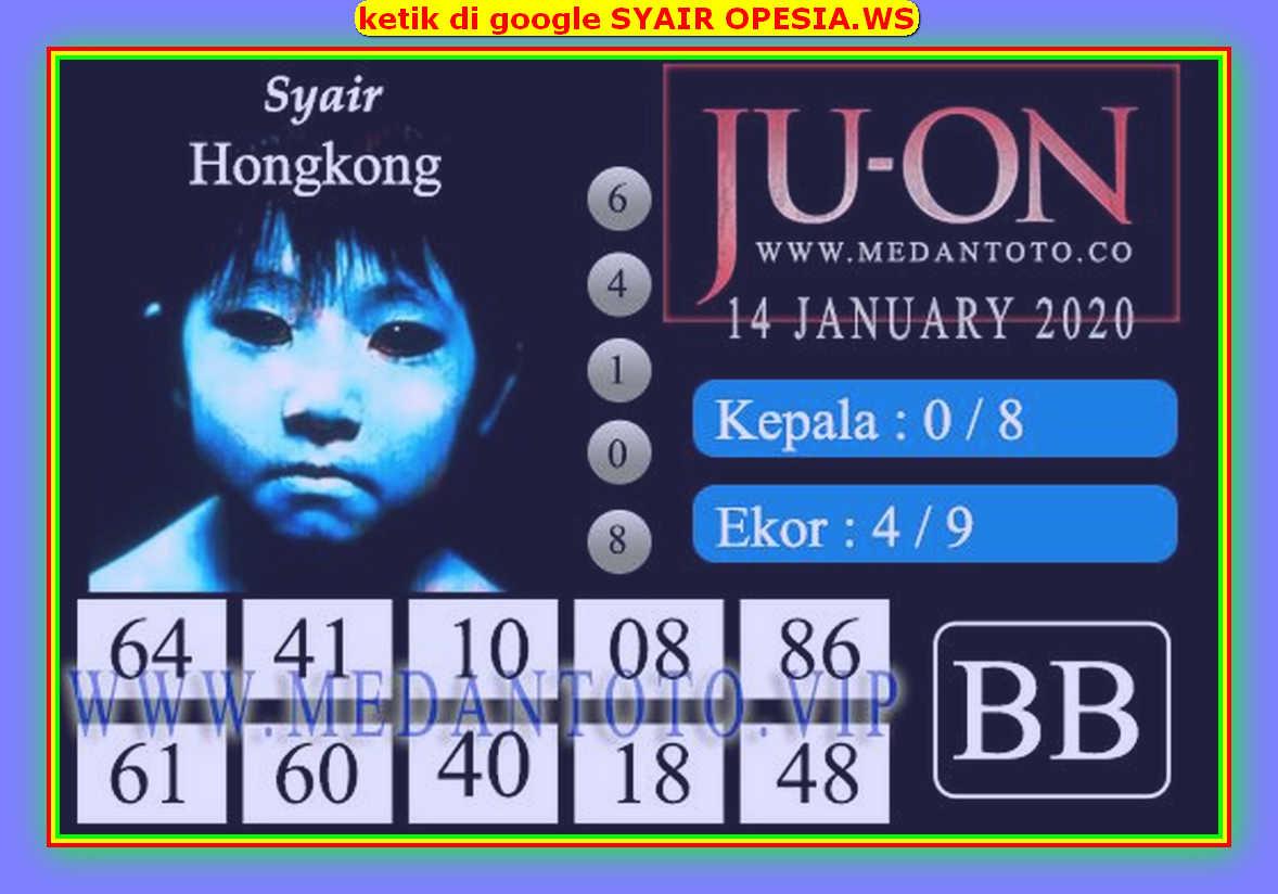 Kode syair Hongkong Selasa 14 Januari 2020 174