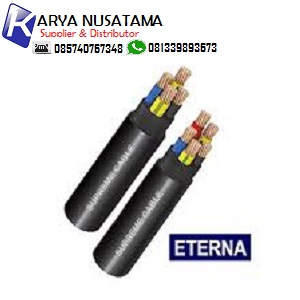 Jual Kabel Serabut Meteran Kabel Eterna NYY 4x25mm di Jambi