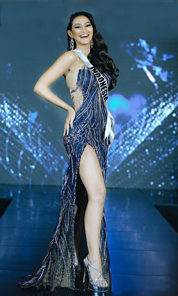 Komodo Dragon-Themed Costume For Indonesia's Miss Universe 2021, posted on Tuesday, 27 April 2021