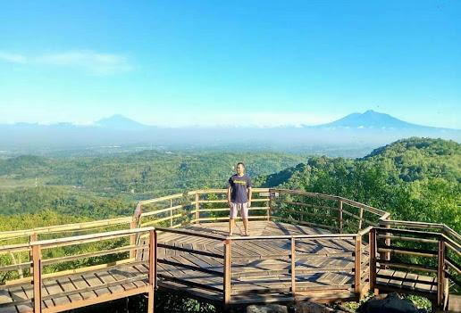 Watu Goyang Bantul, Wisata Puncak Terbaru di Yogyakarta