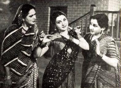 Durga Khote, Rehana and Yashodhara Katju