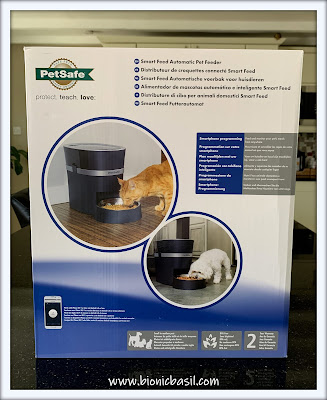 What's In The Box ©BionicBasil® Smart Feed Automatic Dog and Cat Feeder