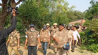 52 एकड़ भूमि के मालिकाना हक का मामला : भूमिधरी जमीन का कब्जा हटाने पहुंचा प्रशासन | #NayaSaberaNetwork