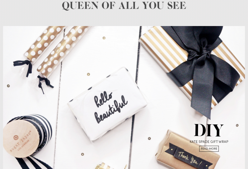 bbloggers, bbloggersca, blog of the month, featured, beauty blogger, queen of all you see