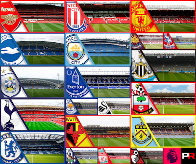 PES 6 Premier League Stadium Collection 2017/2018