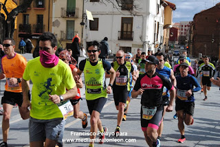 Media Maraton de Leon 2019