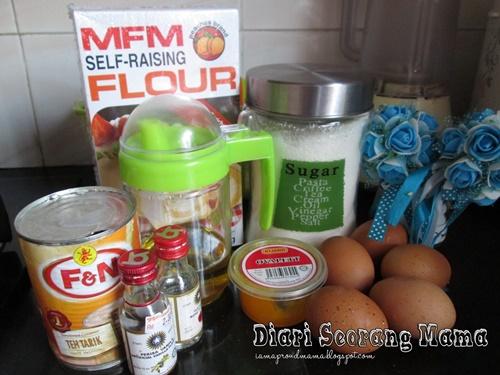 Resepi Kek Minyak Menggunakan Sukatan Cawan