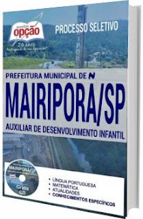 Apostila Concurso Prefeitura de Mairiporã SP 2017