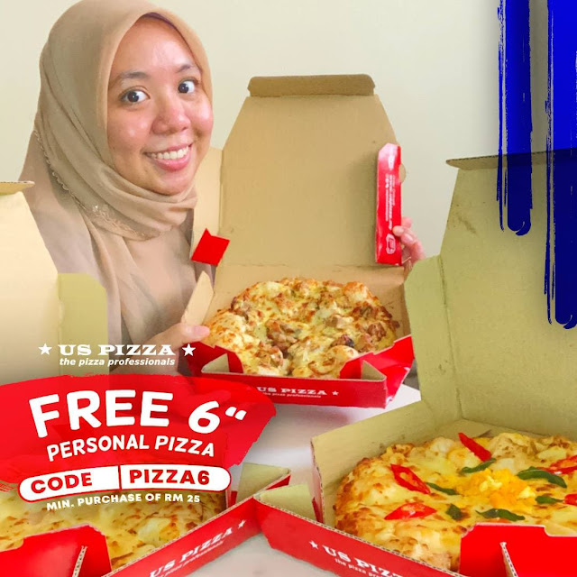 Thank You #USPizzaSS2 USPIZZA Malaysia Sending Me Super Yummy Pizza! Must Try!