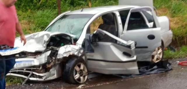 Veículo de Manoel Ribas se envolve em grave acidente na PR-466