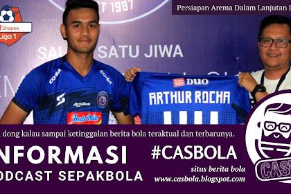 Persiapan Arema Dalam Lanjutan  Liga 1 Indonesia