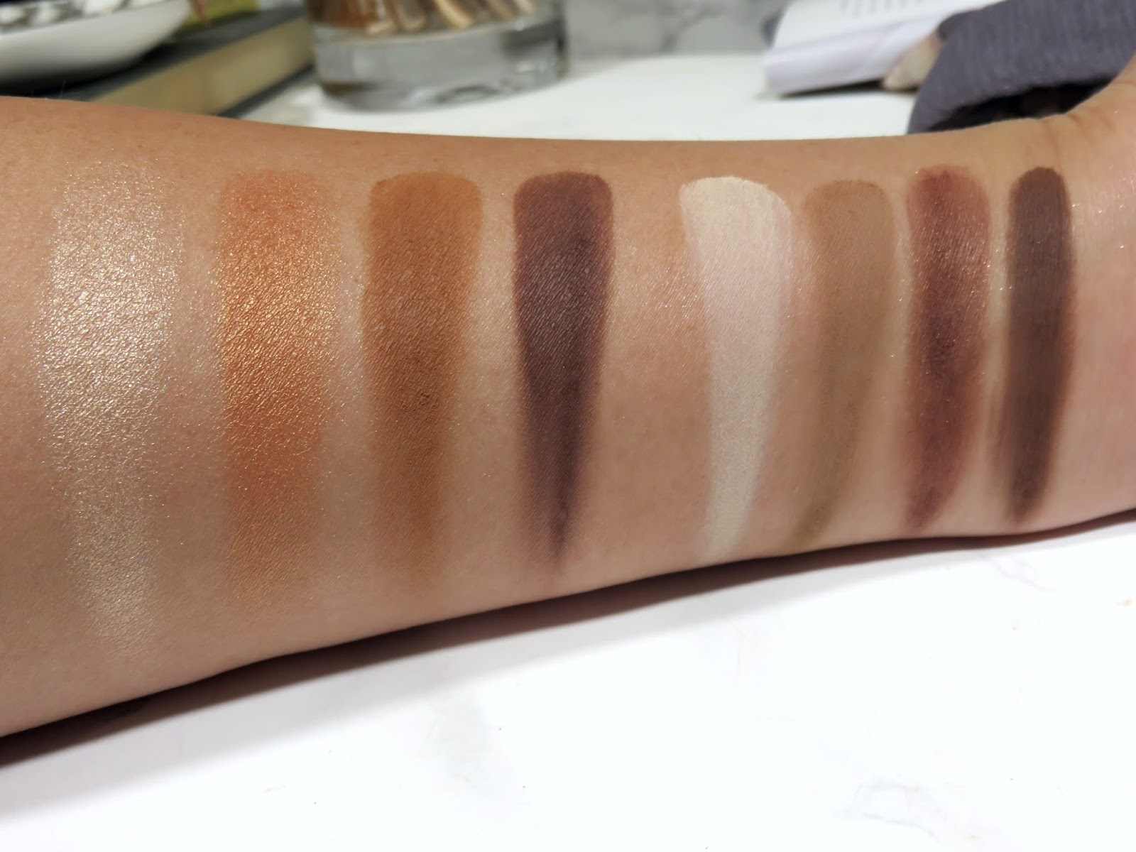 De La Creme vs. Cocoa Mirage Swatches