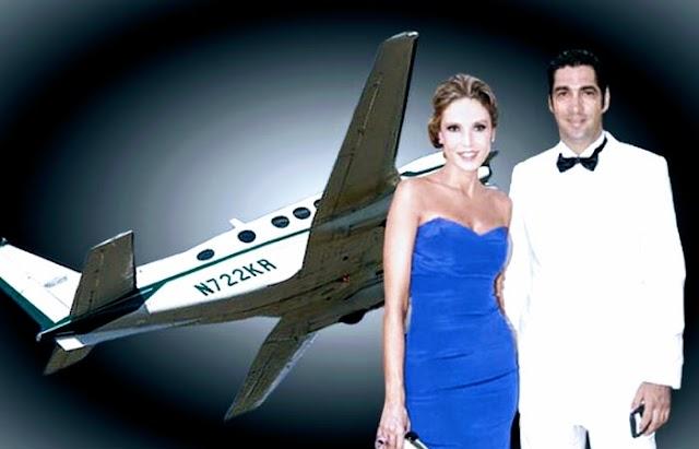 Inician en Colombia la extinción de dominio del narcoavión del empresario Miguel Jaramillo, mismo que su esposa la actriz Alejandra Azcárate pudo haber utilizado en viajes vacacionales