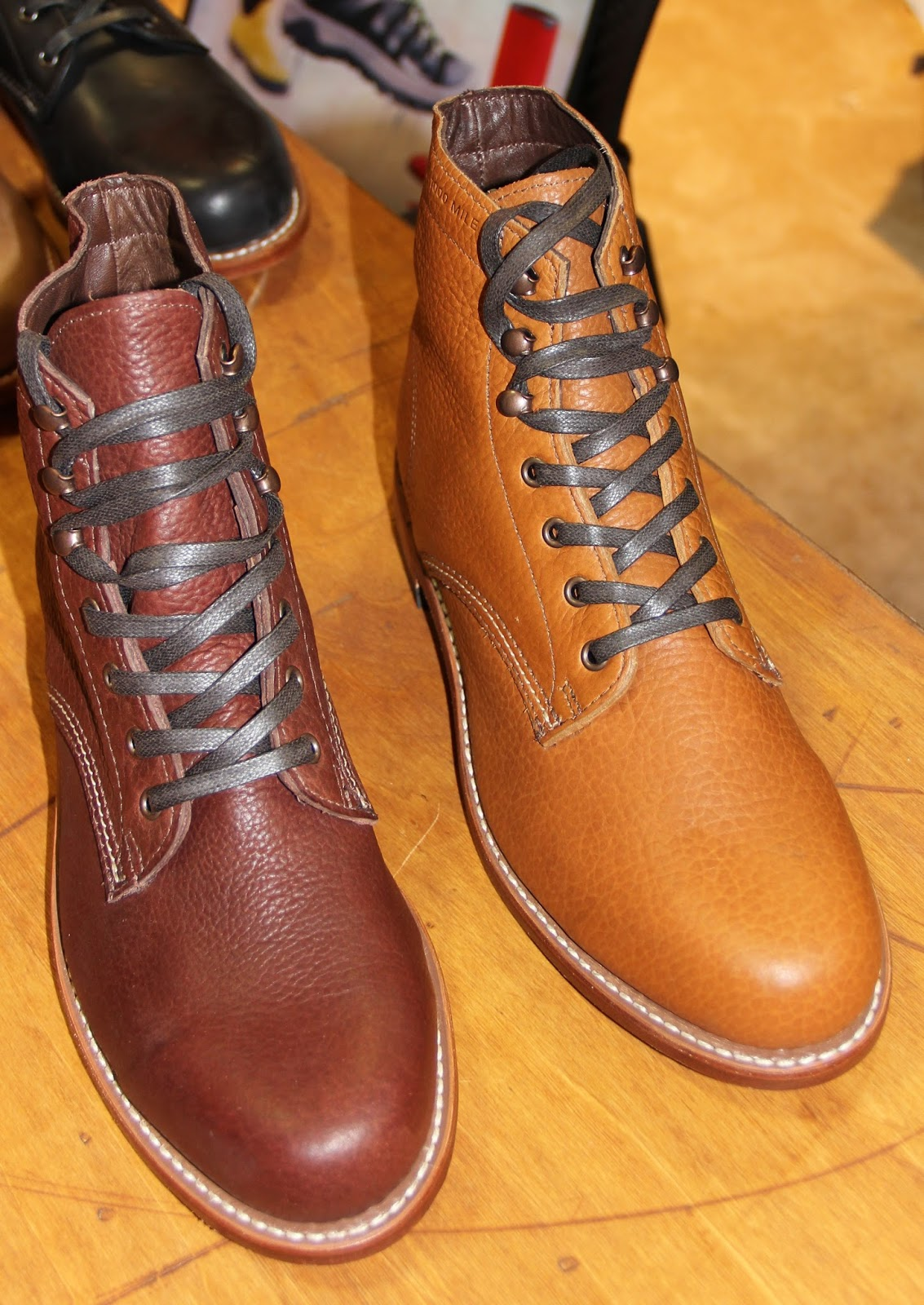 4f6b68ca15e WOLVERINE CENTENNIAL 1000 MILE BOOT MADE IN THE USA-in the company s Big  Rapids