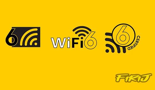 label Wifi 6 / Wifi 6e