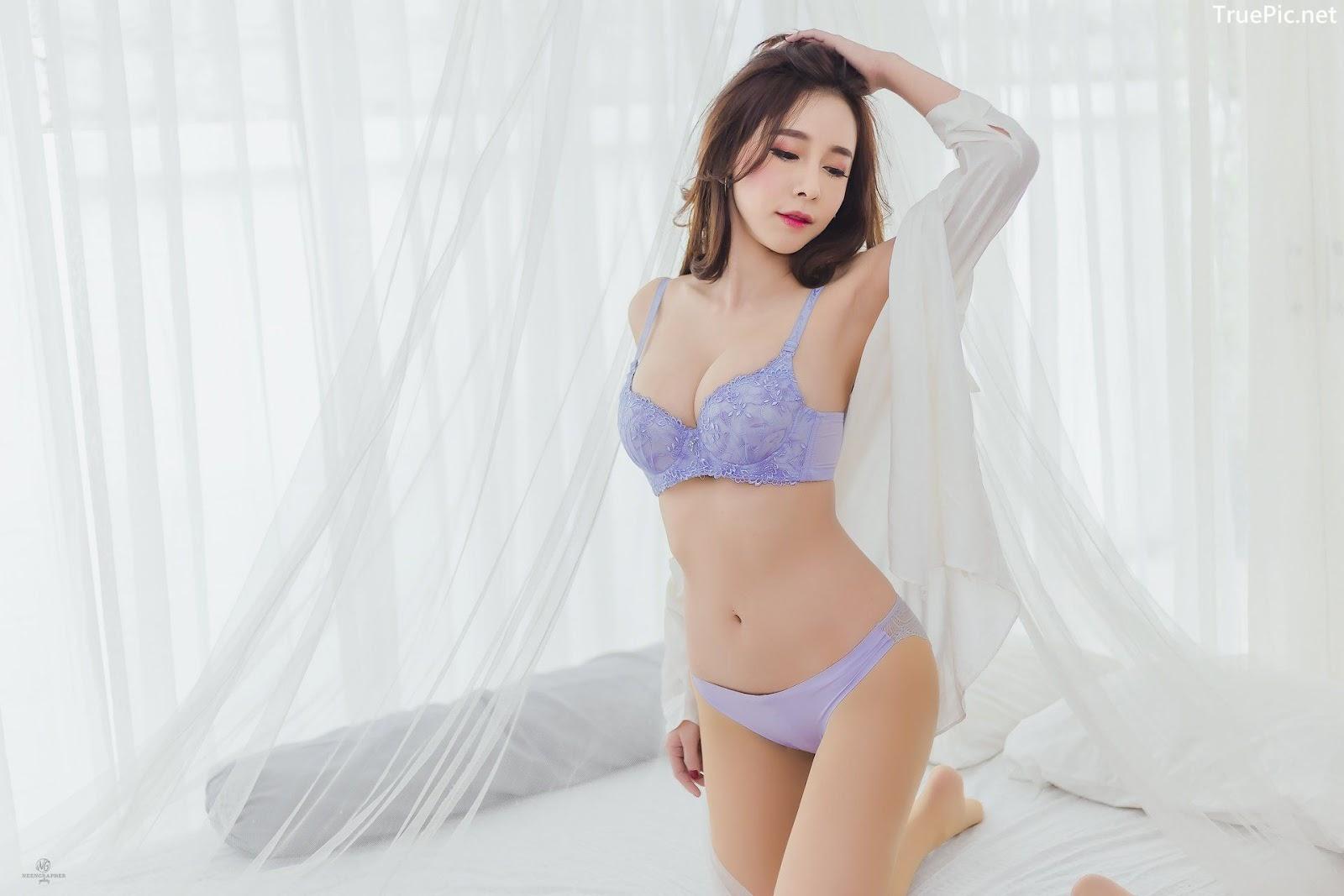 Image-Thailand-Hot-Model-Skykikijung-Purple-Lingerie-TruePic.net- Picture-3