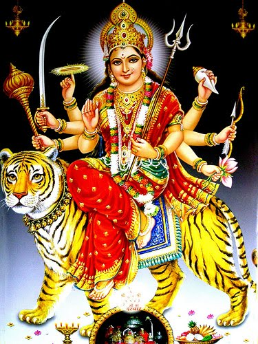 Durga Chalisa in Hindi