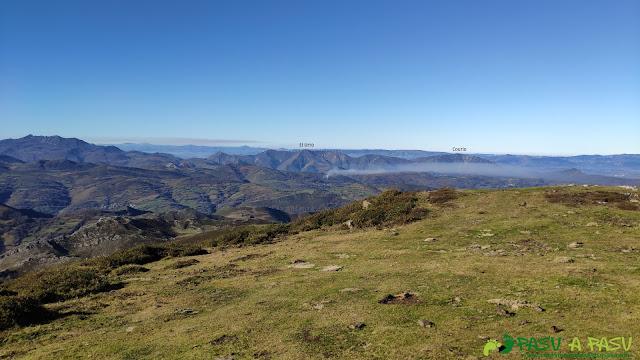 Vista desde la Loral hacia el occidente