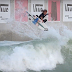 Jackson Dorian surfing in wave pool