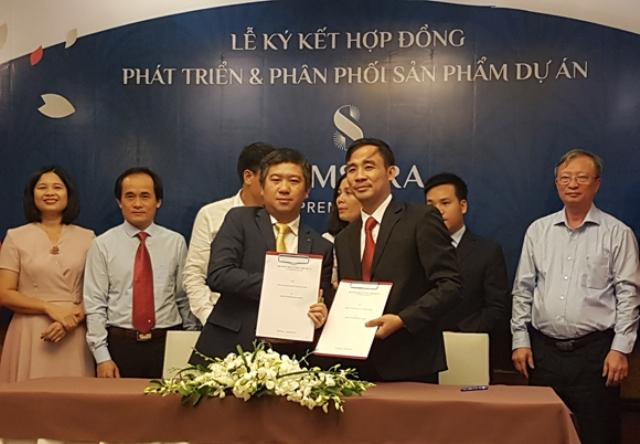 Lễ ký kết hợp đồng phân phối dự án Samsora Premier